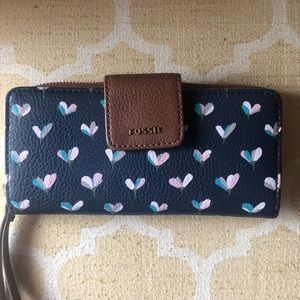 Fossil Wallet Zip Clutch